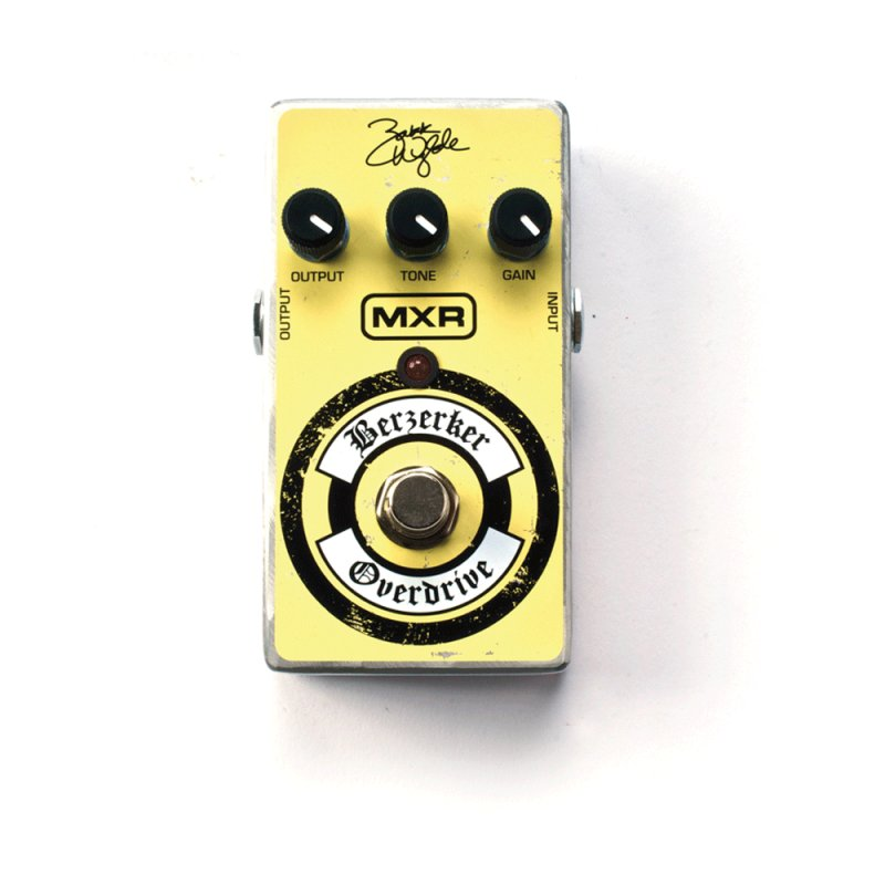 Pedal Wylde Overdrive Dunlop ZW44 Amarelo