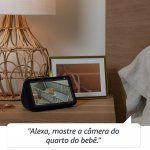 Echo Show 5 Amazon Smart Speaker Branca Alexa em Português com Tela de 5,5
